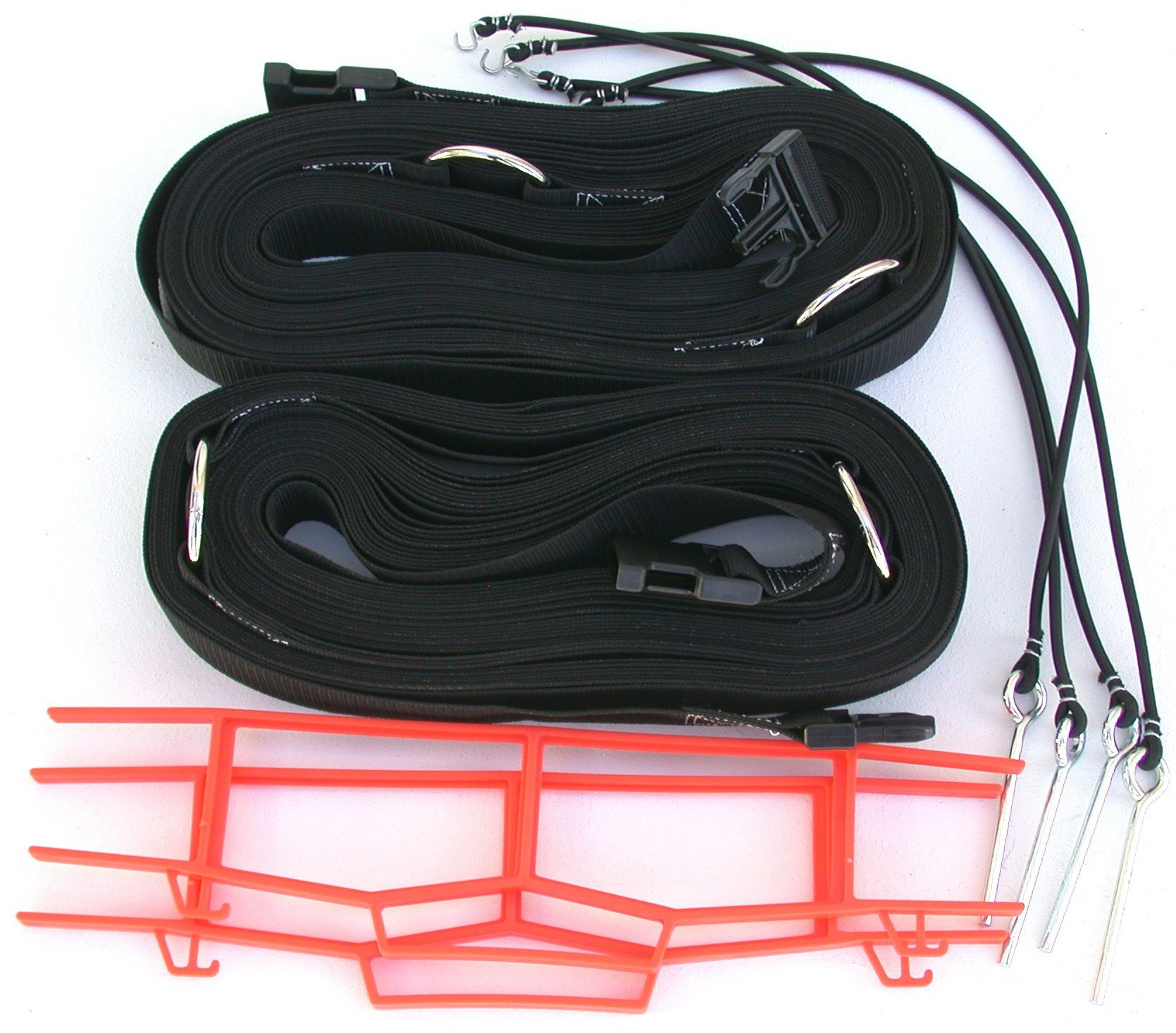 Beach Volleyball 2 Inch Webbing Court Boundary Line Black