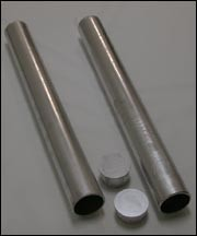 Galvanized Steel Ground Sleeves with Caps